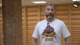 Упражнения с атлетическими булавами - открытая тренировка Сергея Бабкина (силовая йога) power yoga