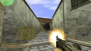 JUGANDO Counter Strike 1.6