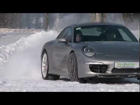 Экстрим-тест Porsche 911