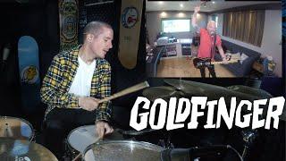 Goldfinger - A Million Miles (Quarantine Video) - Drum Playthrough - Kye Smith