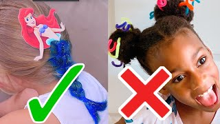 Mom Hacks 13 Cute Hairstyle Ideas for Little Girls AGAIN - Will They Work?