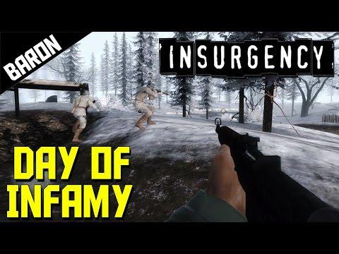 Battle of Bastogne!  (Insurgency Day of Infamy) WW2 Shooter |