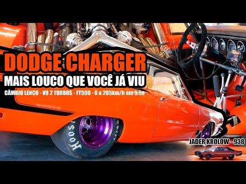 Dodge Charger Nacional de rua acelera de 0 a 205km/h em 5.5s - Jader Krolow