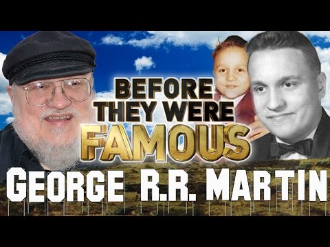 GEORGE RR MARTIN - Before They Were Famous - Game of Thrones Writer