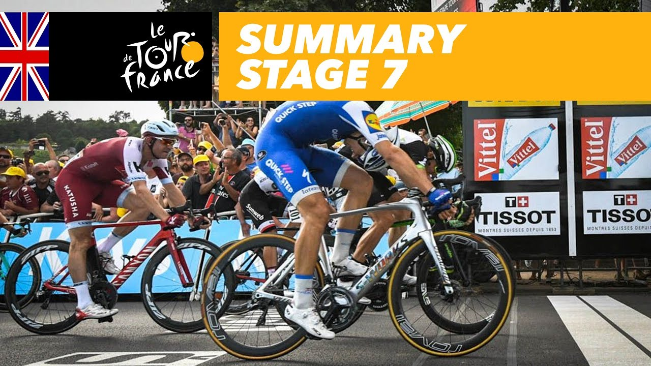 Summary - Stage 7 - Tour de France 2017 - YouTube