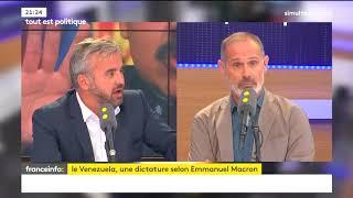 Extrait du passage de Alexis Corbiere à France info du 29/08/2017