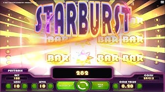 Starburst Online Slot from NetEnt