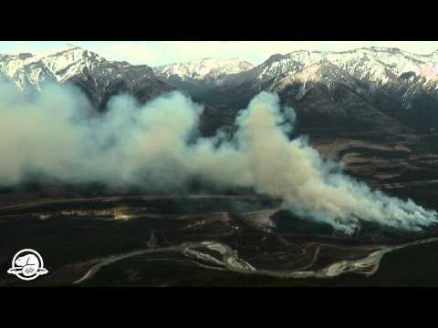 Banff National Park's Carrot Creek Prescribed Fire - Time lapse