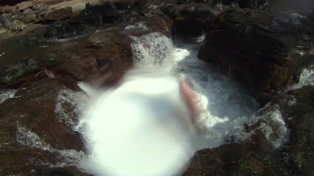 Toilet Bowl Hanauma Bay Oahu Hawaii Gopr3690 Mp4 Youtube