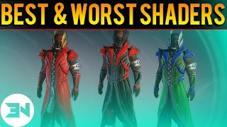 Top 5 Best Shaders vs Top 5 Worst Shaders - Destiny The Taken King