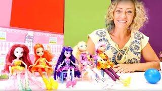 Spielzeug Kindergarten mit Nicole - 3 Folgen am Stück. Kinder Video
