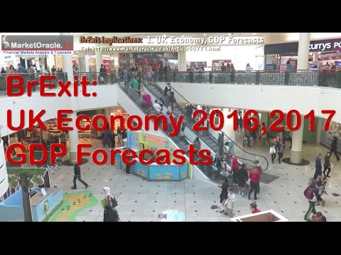 BrExit UK Economic Collapse Evaporates, GDP Forecasts for 2016 and 2017 (1)