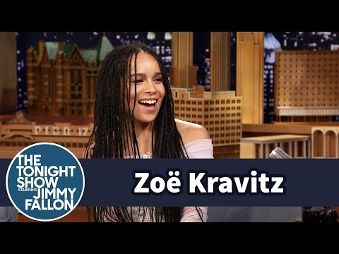 Zoë Kravitz's Famous Dad Picked Jimmy Up from the Airport