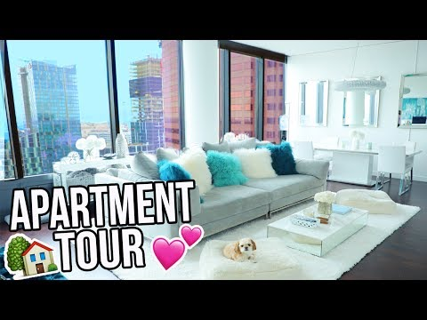 APARTMENT TOUR!! FULL LA LOFT TOUR 2017