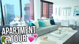 APARTMENT TOUR!! LA PENTHOUSE TOUR 2017