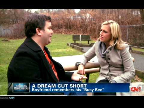 Heartbreaking :'( Tony talks about Lauren Rousseau [Sandy Hook shooting victim]