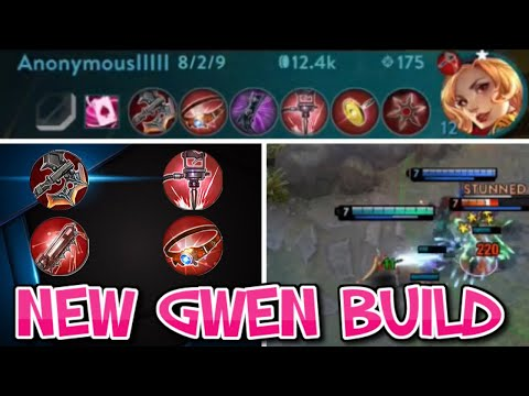 NEW GWEN BUILD + PLAYING RANGED HEROES AGAINST MELEES - VAINGLORY 5V5 WP GWEN BOT LANE GAMEPLAY