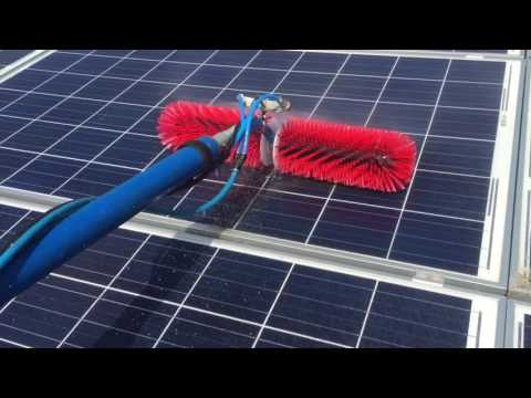 Specialist solar PV cleaning