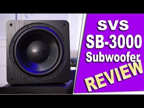 SVS SB-3000 Subwoofer Review | Holy &@#%! [4K HDR]