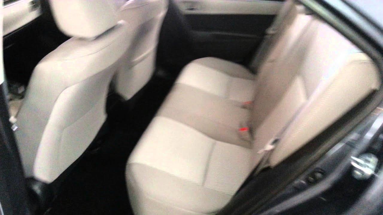 2014 toyota corolla sedan quick interior tour rear passenger sets leg room