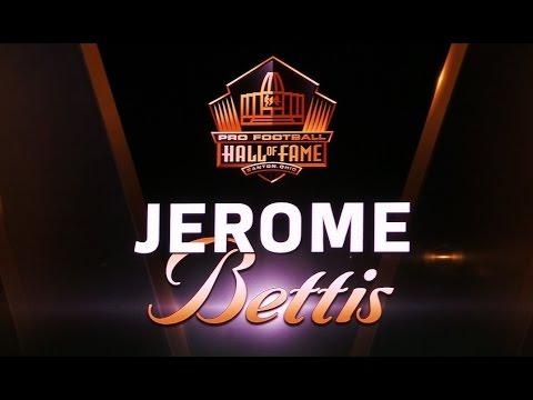 Jerome Bettis Hall of Fame Enshrinement