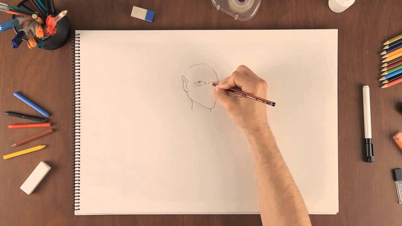 Cómo Dibujar Un Elfo Aprende A Dibujar Como Un Profesional Youtube