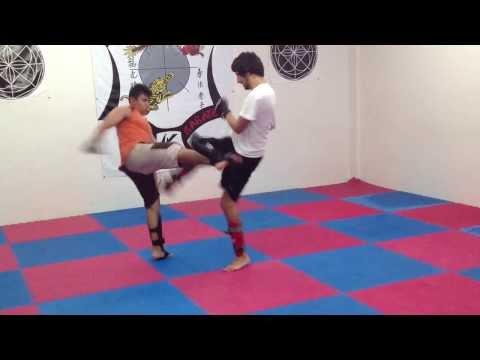 IKKA Veracruz, sparring Artes Marciales Mixtas MMA 3