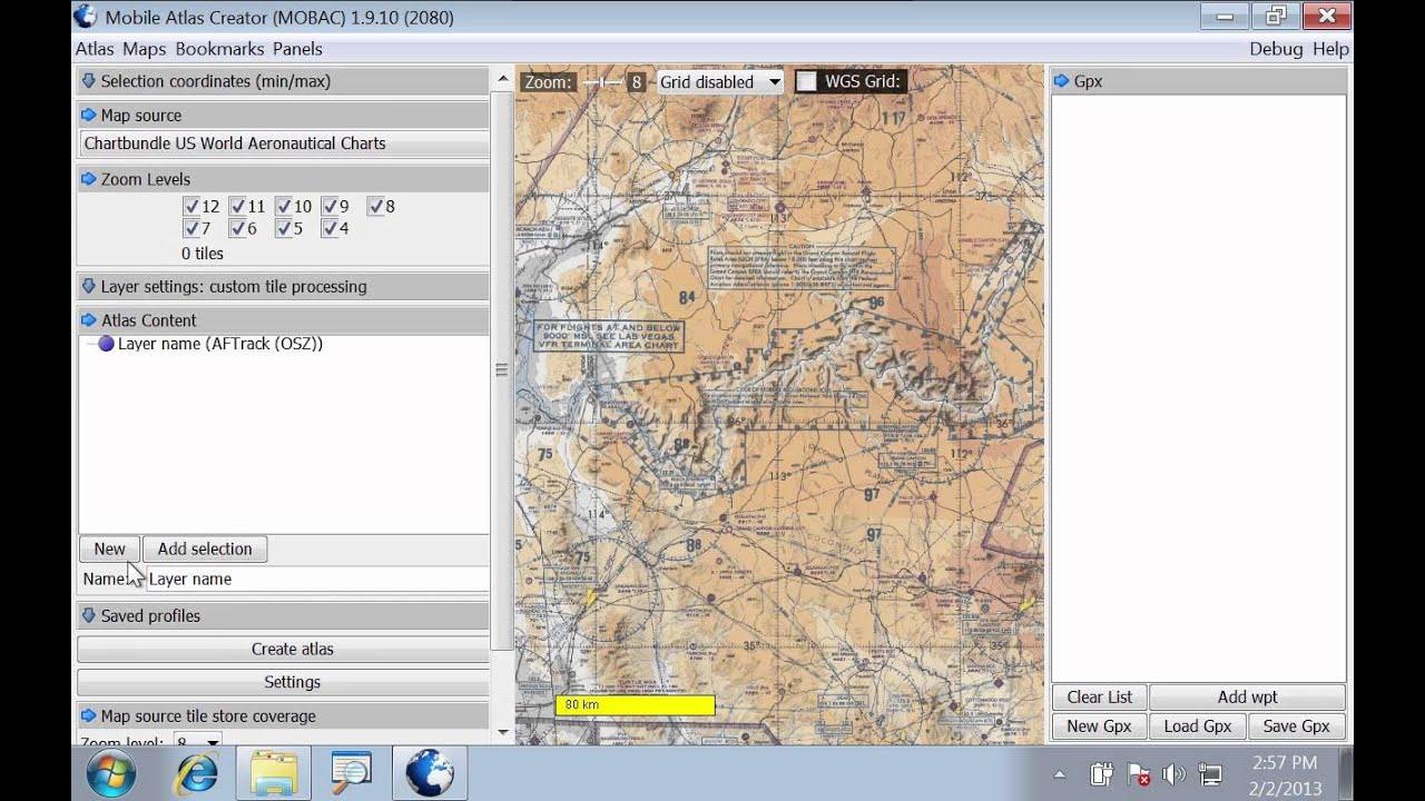 [DIY Map GPS] Building MBTiles Sqlite( sqlite) maps using Mobile Atlas  Creator