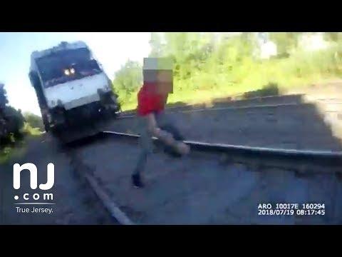 Perth Amboy officer saves life of man on railroad tracks