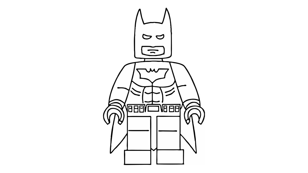 Wie Zeichnet Man Lego Batman Dark Knight