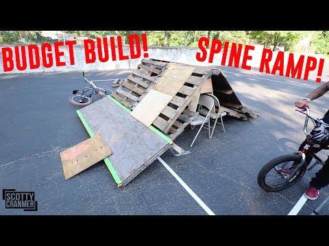 BUDGET BUILD BMX RAMP CHALLENGE!