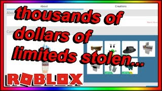 THE BIGGEST SCAMMER ON ROBLOX