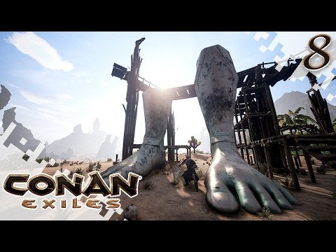 CONAN EXILES - North With The Clan! - EP08 (Gameplay)