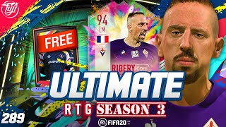 BEST EVER *FREE* PACK!!! ULTIMATE RTG #289 - FIFA 20 Ultimate Team Road to Glory