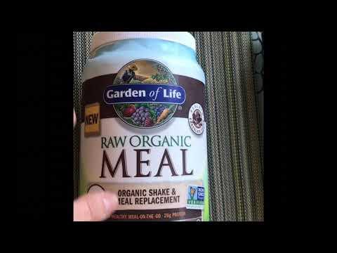 Заменитель пищи, органический коктейль Raw organic meal от Garden of life