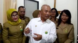 Walikota Bekasi Tinjau Vaksin Ulang Di Rs Rawalumbu [2]  Megapolitan.co