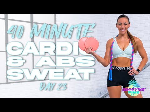 40 Minute Cardio and Abs Workout | Summertime Fine 3.0 - Day 23