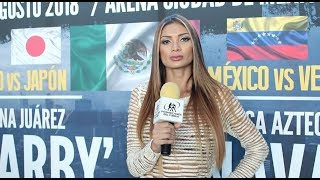 Mariana Juárez y su reto de enfrentar a Jackie Nava