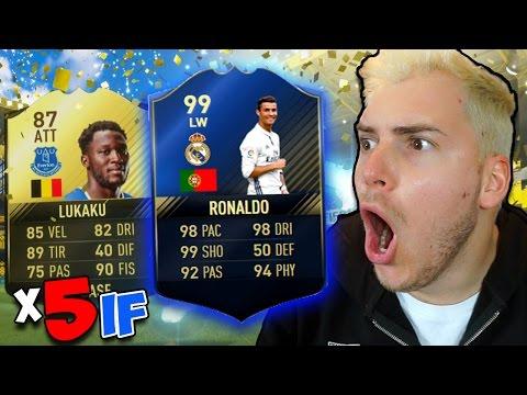 RONALDO TOTY 99?? + 5 IF + 2 WALKOUT!! TOTY PACK OPENING FIFA 17 Ultimate Team (LA GUERRA DEI TOTY)