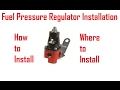 Fuel Pressure Regulator Install [How To/Tech]