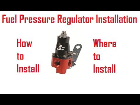 Fuel Pressure Regulator Install [How ToTech]  YouTube