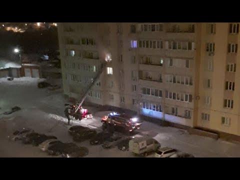 Пожар В Городе Сызрани