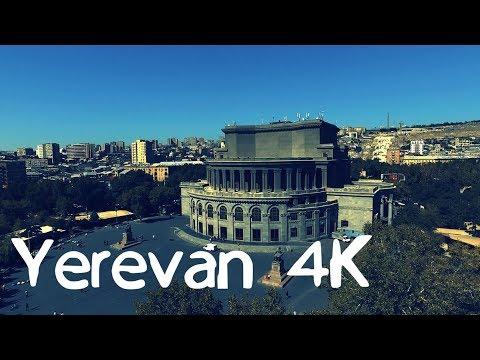 European Yerevan - Европейский Ереван 4K