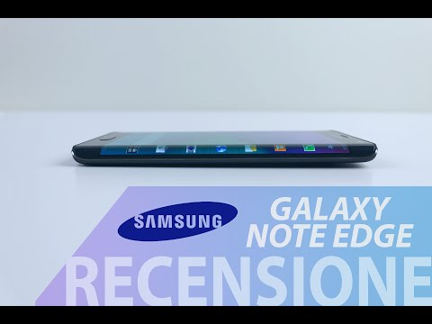 Samsung Galaxy Note Edge, recensione in italiano