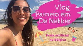 Vlog: Praia na Bélgica - Passeio de De Nekker
