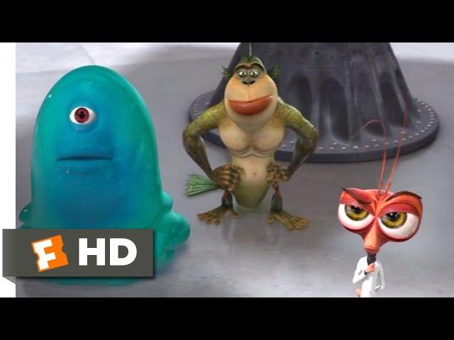 Monsters vs. Aliens (2009) - Meet the Monsters Scene (2/10)   Movieclips