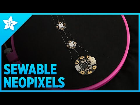 How To Sew the Perfect NeoPixel Circuit
