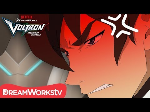 Keith: The Hothead of Team Voltron | DREAMWORKS VOLTRON LEGENDARY DEFENDER