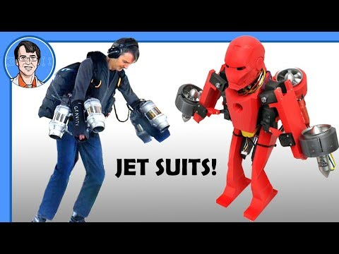 Flying Iron Man #2 - WITH REAL JET SUITS ! | James Bruton
