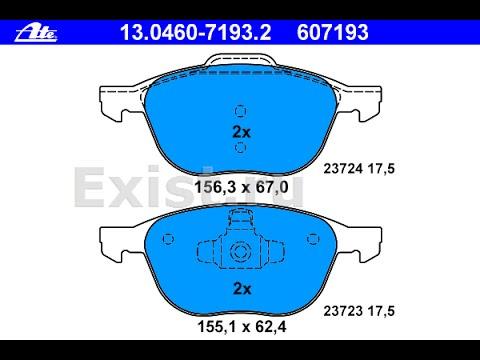 Замена передних тормозных колодок на Ford Focus 2 (2009) 2.0л